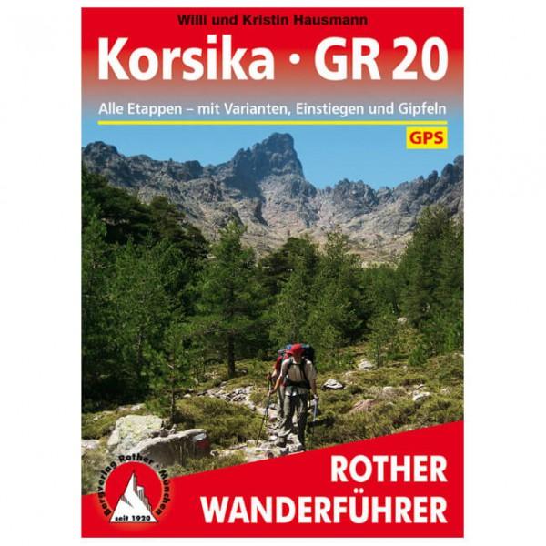 Bergverlag Rother - Korsika - GR 20 - Wandelgidsen