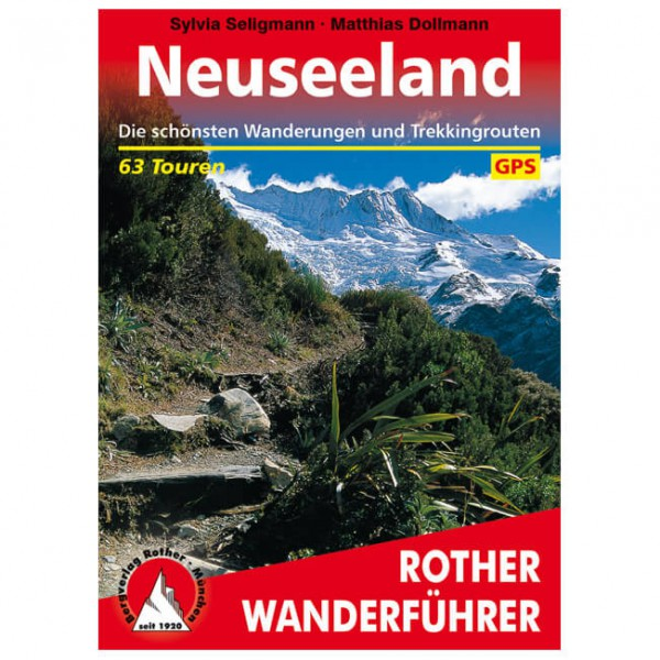 Bergverlag Rother - Neuseeland - Vaellusoppaat