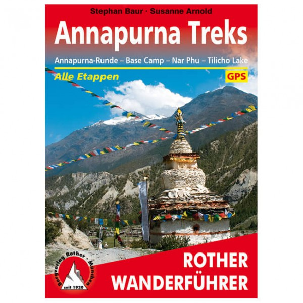 Bergverlag Rother - Annapurna Treks - Walking guide book
