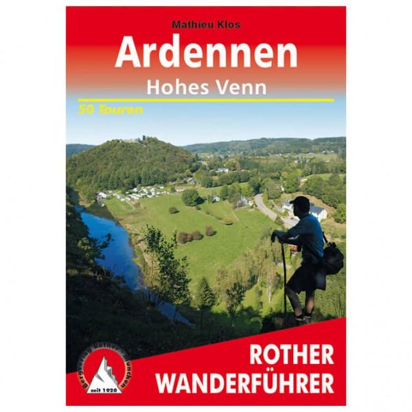 Bergverlag Rother - Ardennen – Hohes Venn - Vandringsguider
