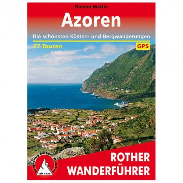 Bergverlag Rother - Azoren - Walking guide book