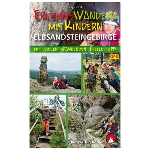 Bergverlag Rother - Erlebniswandern Elbsandsteingebirge - Wandelgidsen