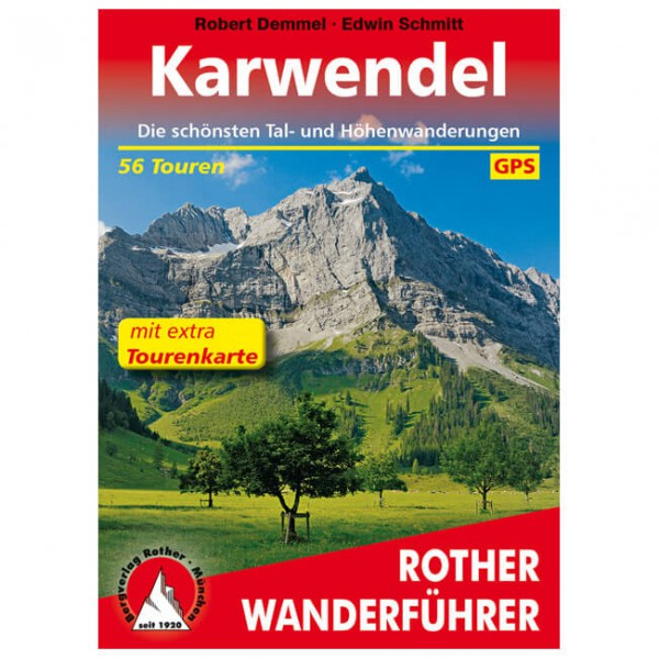 Bergverlag Rother - Karwendel - Walking guide book