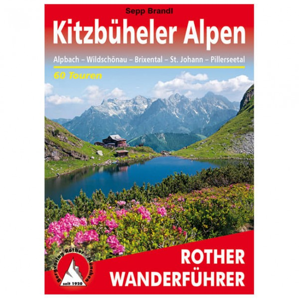 Bergverlag Rother - Kitzbüheler Alpen - Guías de senderismo