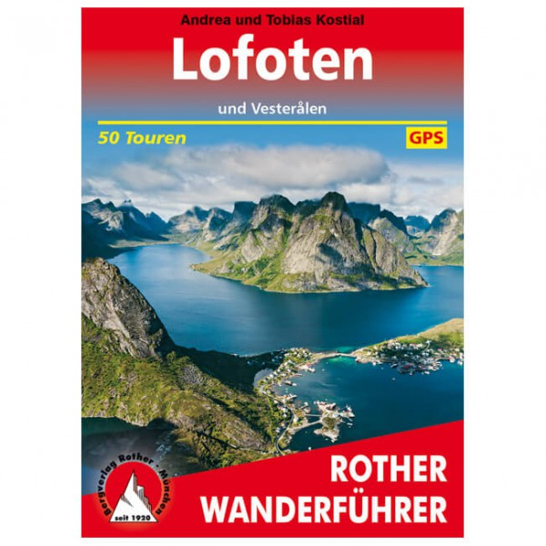 Bergverlag Rother - Lofoten - Vandringsguider