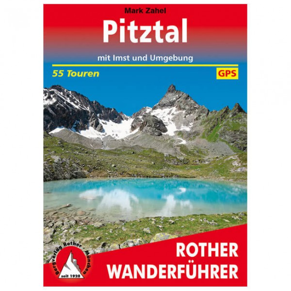 Bergverlag Rother - Pitztal - Vandringsguider