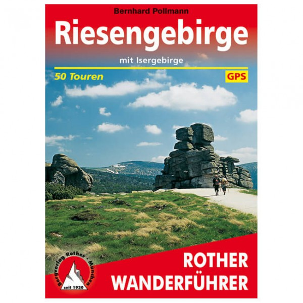Bergverlag Rother - Riesengebirge - Wandelgidsen