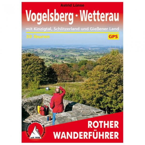 Bergverlag Rother - Vogelsberg – Wetterau - Vandringsguider