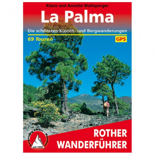 Bergverlag Rother - La Palma - Wandelgidsen
