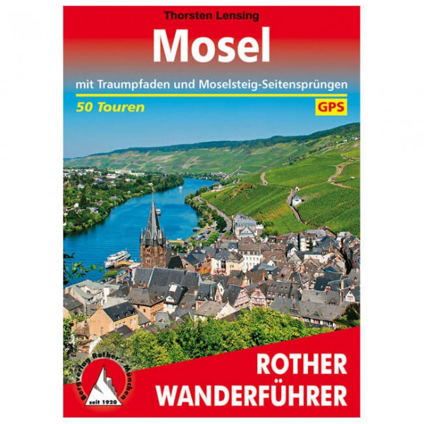 Bergverlag Rother - Mosel - Walking guide book