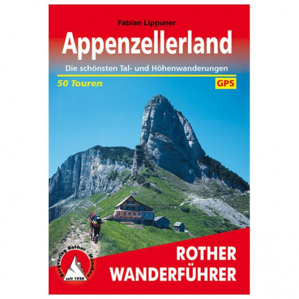 Bergverlag Rother - Appenzellerland - Wandelgidsen