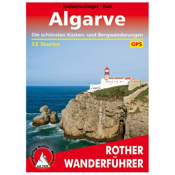 Bergverlag Rother - Algarve - Vaellusoppaat