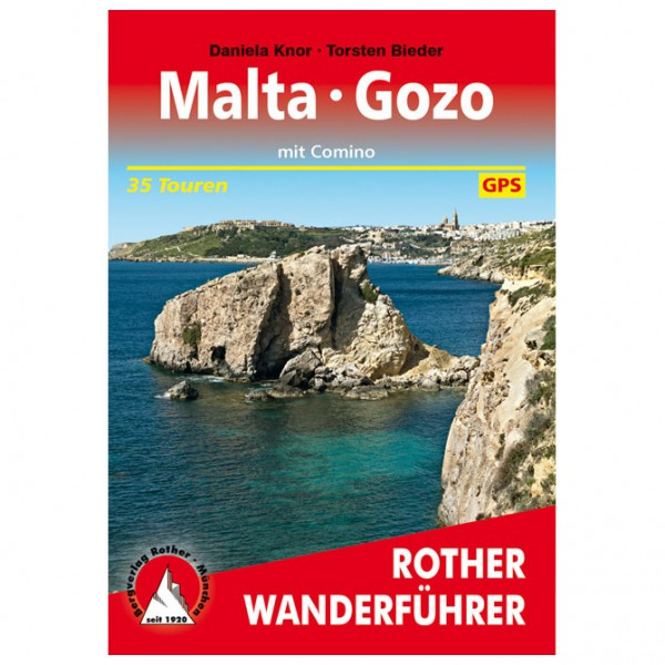 Bergverlag Rother - Malta - Gozo - Wanderführer