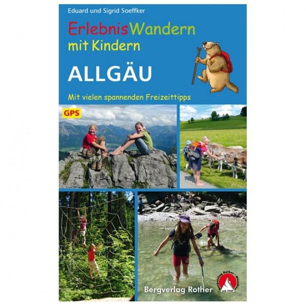 Bergverlag Rother - Allgäu, Erlebniswandern mit Kindern - Wanderführer