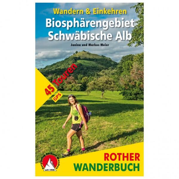 Bergverlag Rother - Biosphärengebiet Schwäbische Alb - Wandelgidsen