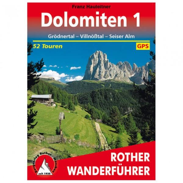 Bergverlag Rother - Dolomiten 1 - Vaellusoppaat