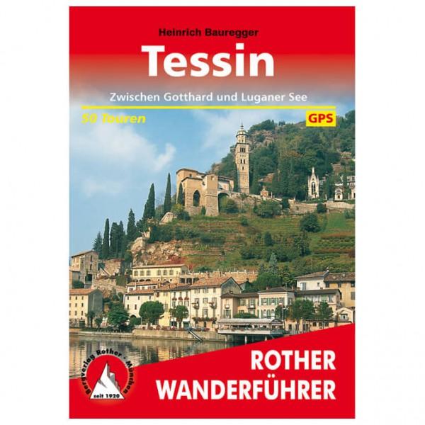 Bergverlag Rother - Tessin - Guides de randonnée