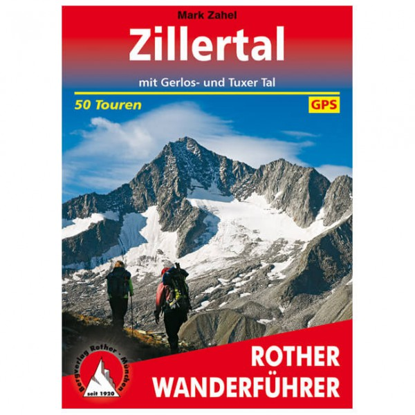 Bergverlag Rother - Zillertal - Walking guide book