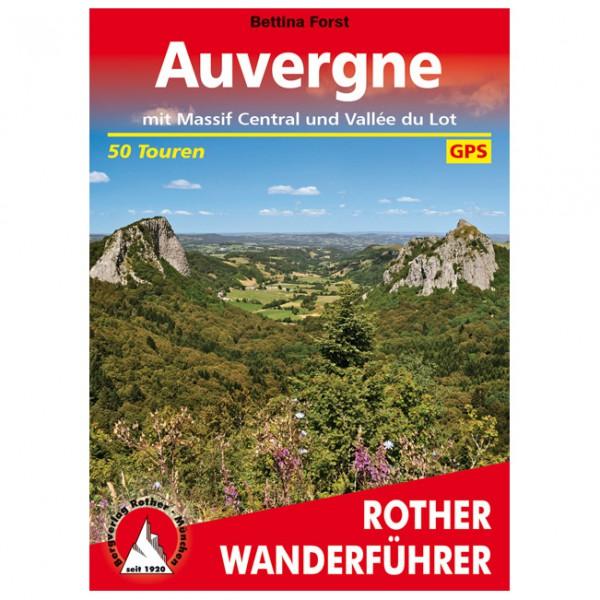 Bergverlag Rother - Auvergne - Massif Central - Wanderführer