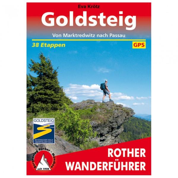 Bergverlag Rother - Goldsteig - Walking guide book