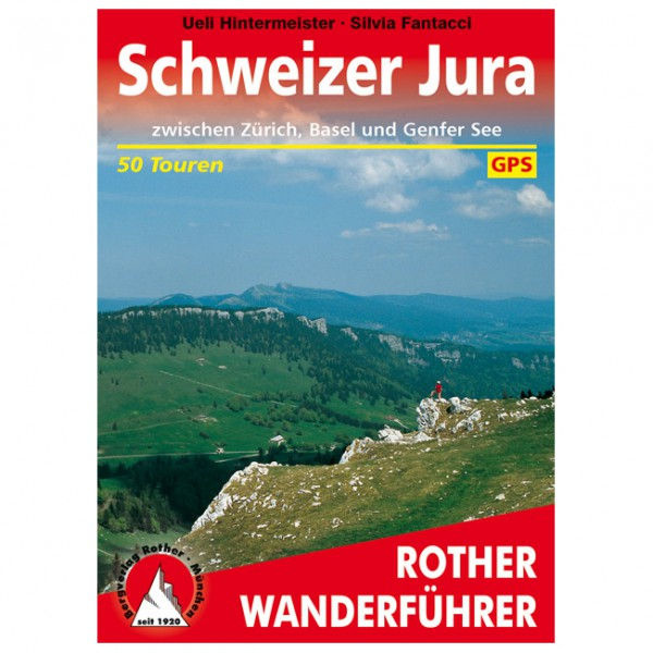 Bergverlag Rother - Jura - Wandelgids