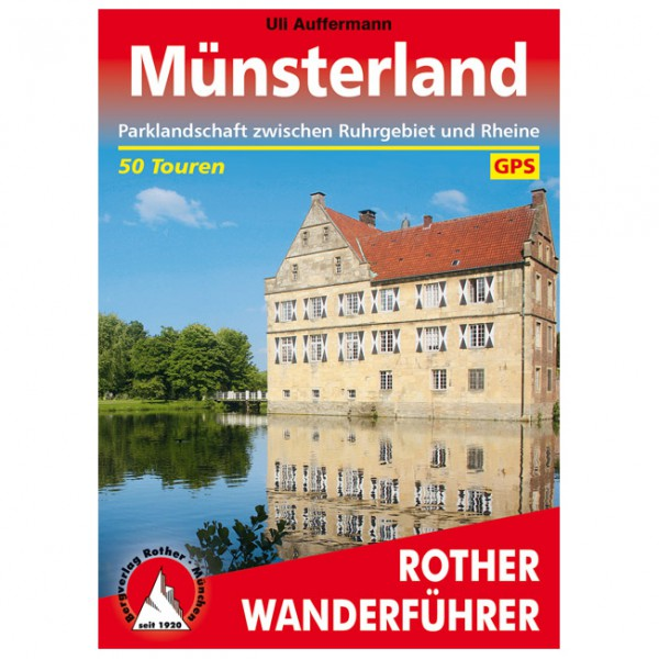 Bergverlag Rother - Münsterland - Walking guide book