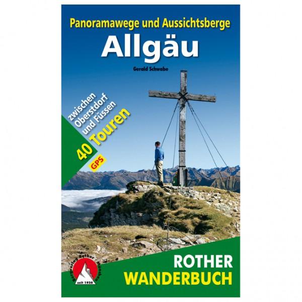 Bergverlag Rother - Panoramawege und Aussichtsberge Allgäu - Vandringsguider