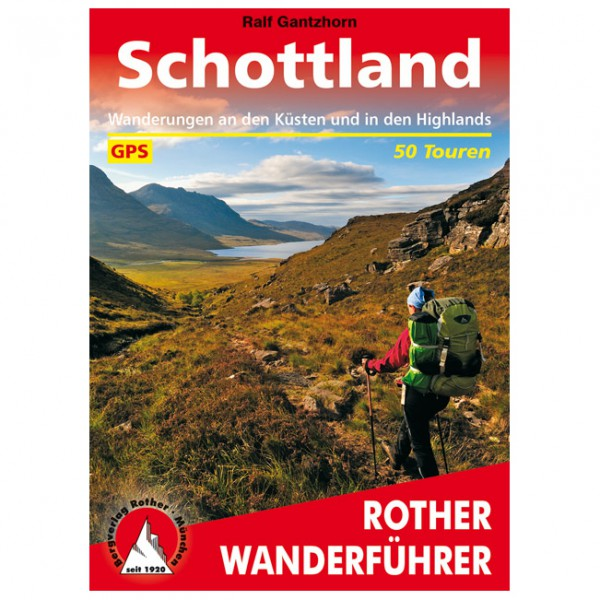 Bergverlag Rother - Schottland - Walking guide book