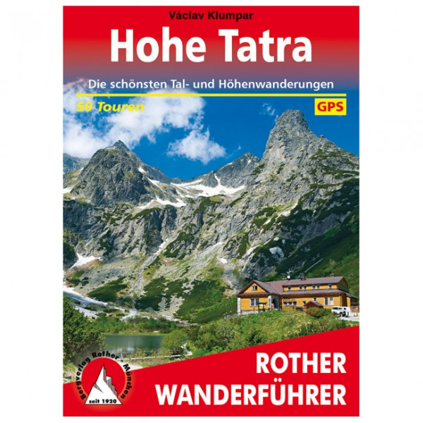 Bergverlag Rother - Tatra - Vandringsguider