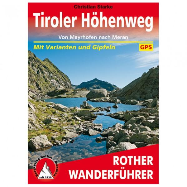 Bergverlag Rother - Tiroler Höhenweg - Wandelgidsen