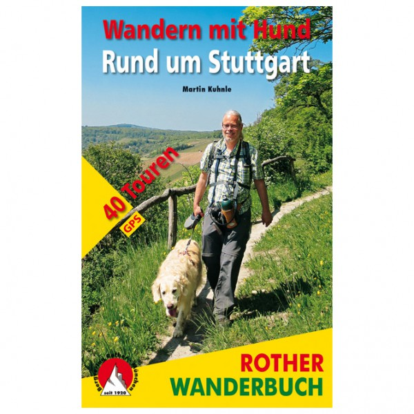 Bergverlag Rother - Wandern mit Hund Stuttgart - Vandreguides