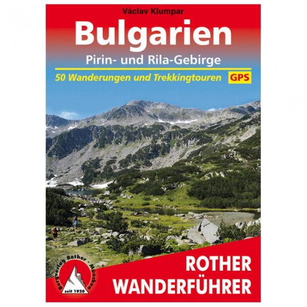 Bergverlag Rother - Bulgarien - Pirin- und Rila-Gebirge - Wandelgidsen