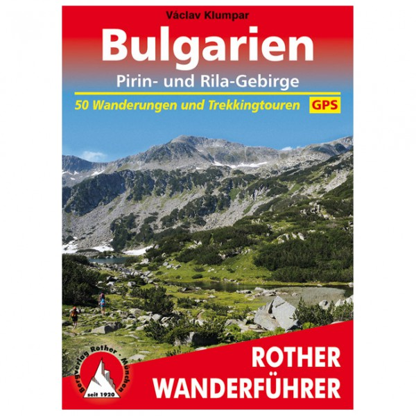 Bergverlag Rother - Bulgarien - Pirin- und Rila-Gebirge