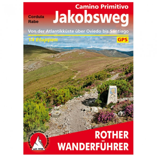 Bergverlag Rother - Jakobsweg - Camino Primitivo - Walking guide book