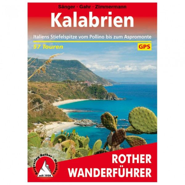 Bergverlag Rother - Kalabrien - Walking guide book