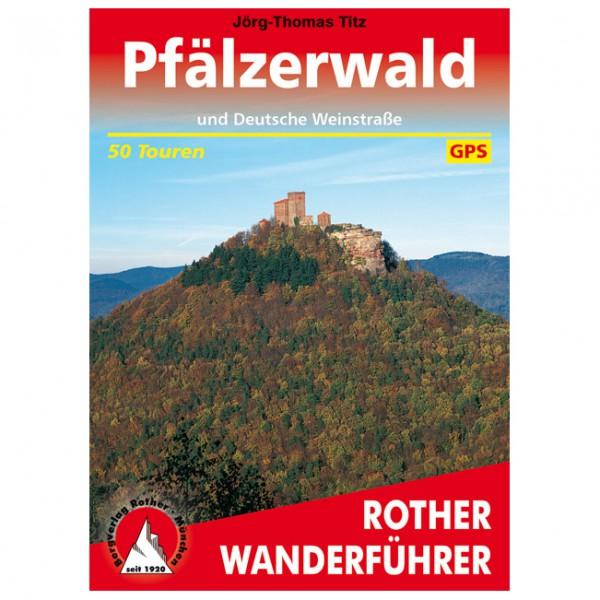 Bergverlag Rother - Pfälzerwald - Vaellusoppaat