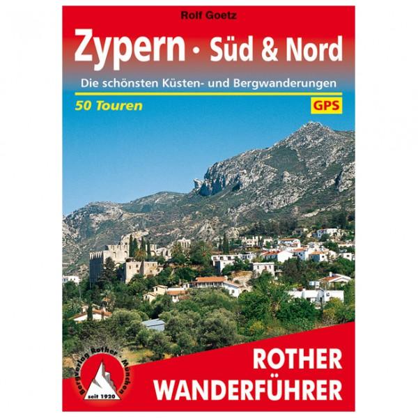 Bergverlag Rother - Zypern - Süd & Nord - Vaellusoppaat