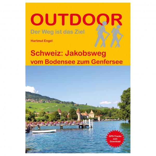 Conrad Stein Verlag - Jakobsweg vom Bodensee zum Genfer See - Vandringsguider
