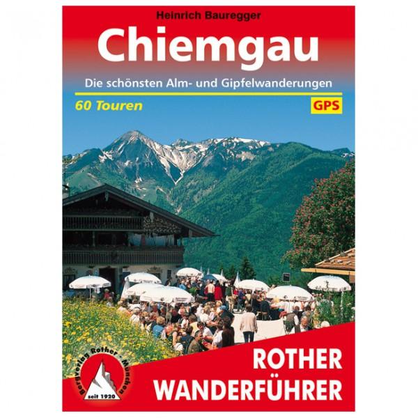 Bergverlag Rother - Chiemgau - Guide de randonnée