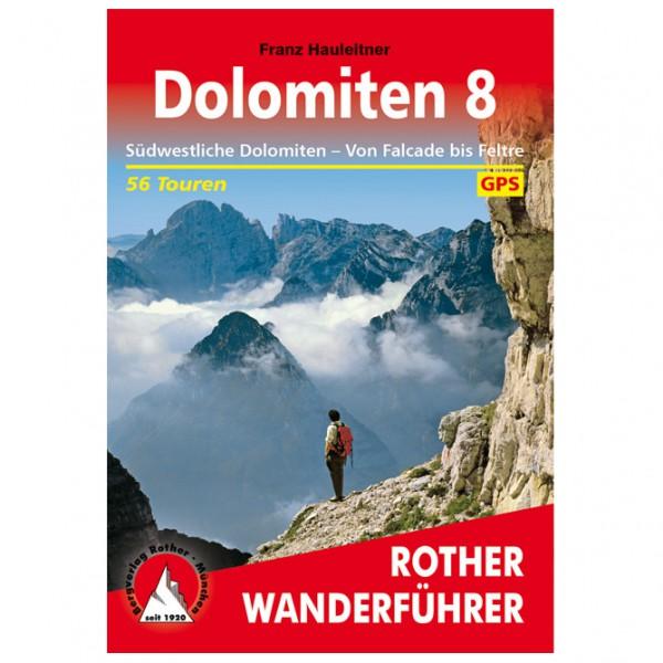 Bergverlag Rother - Dolomiten 8 - Vaellusoppaat