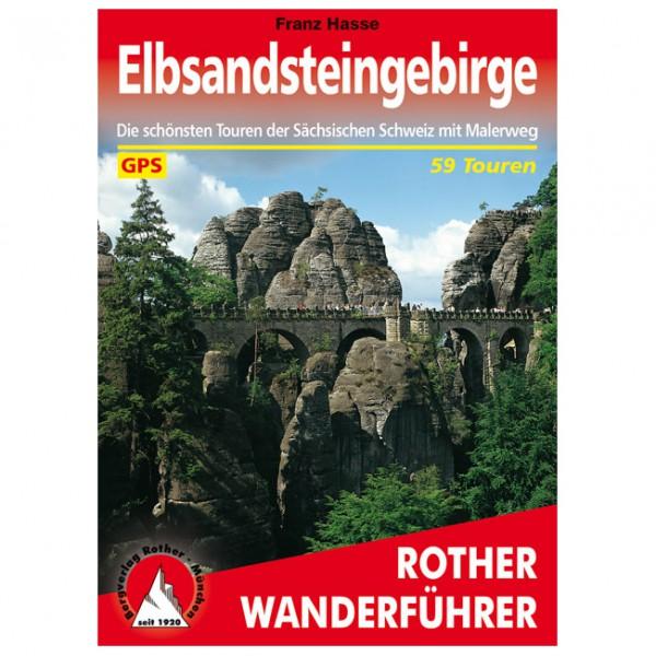 Bergverlag Rother - Elbsandsteingebirge - Vandringsguider