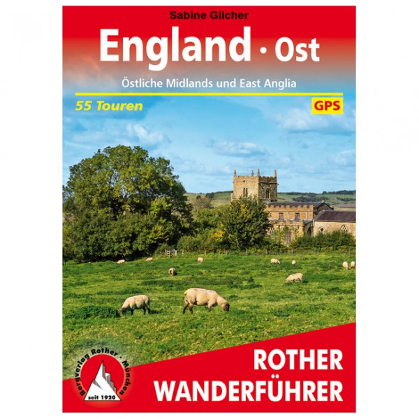 Bergverlag Rother - England Ost - Walking guide book
