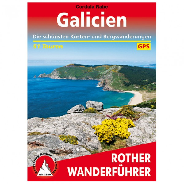 Bergverlag Rother - Galicien - Vaellusoppaat