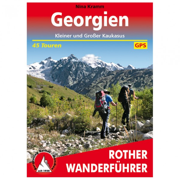 Bergverlag Rother - Georgien - Walking guide book