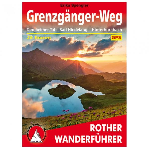Bergverlag Rother - Grenzgänger-Weg - Vaellusoppaat