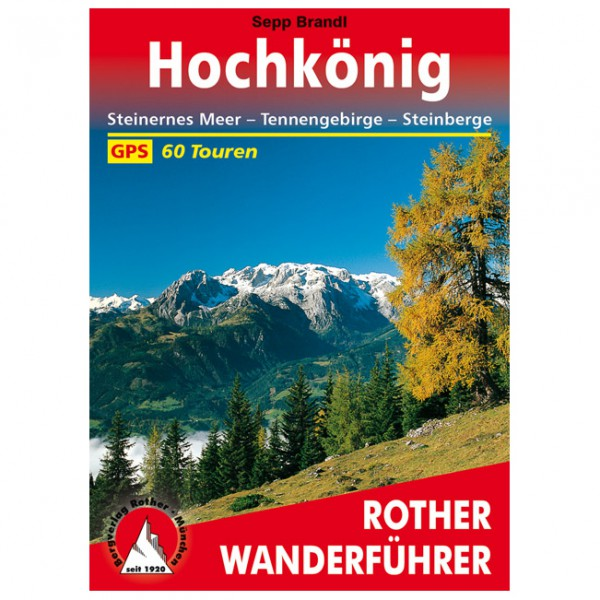 Bergverlag Rother - Hochkönig - Vandringsguider
