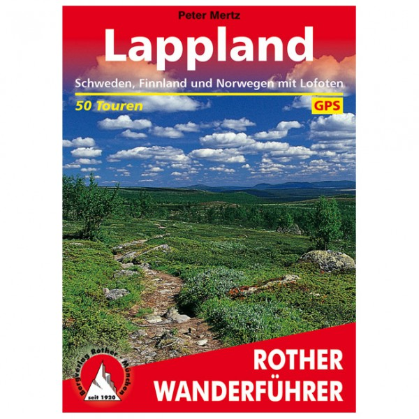Bergverlag Rother - Lappland - Walking guide book