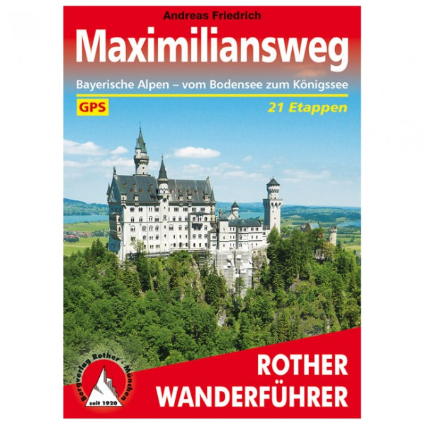 Bergverlag Rother - Maximiliansweg - Walking guide book