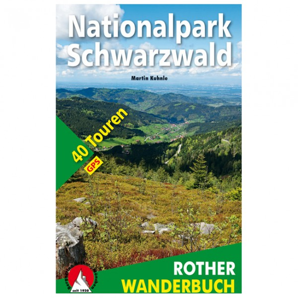 Bergverlag Rother - Nationalpark Schwarzwald - Walking guide book