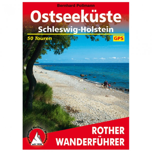 Bergverlag Rother - Ostseeküste - Walking guide book